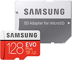 Samsung EVO Plus MicroSDXC Kart 100 MB/s (SD Adaptör), 128 GB