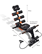 Ozoy Six Pack Abs Exerciser Machine for Exercise and Fitness Without Cycle for Home and Gym