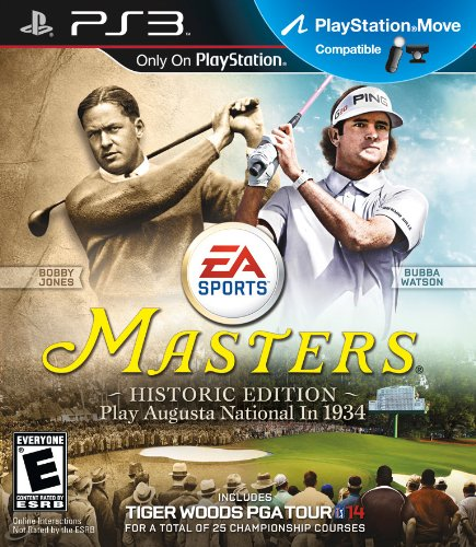 TIGER WOODS PGA TOUR 14 MASTERS HISTORIC EDITION