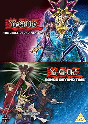 Yu-Gi-Oh! Movie Double Pack: Bonds Beyond Time & Dark Side of Dimensions [2 DVDs] [UK Import]