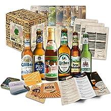 """""""6 Especialidades de Cerveza Alemana"""" Colección de la mejor cerveza alemana. Una de las mejores ideas de regalo para hombres (Cumpleaños, Navidades, Reyes, Aniversario)"""
