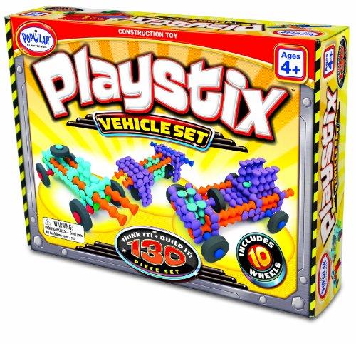 HCM Kinzel Popular Playthings 58126 - Playstix Vehicle Set