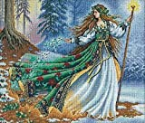 """Dimensions """"Woodland Enchantress"""" Counted Cross Stitch Kit, Multi-Colour"""
