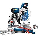 Bosch Professional 0601B23600 Troncatrice Radiale GCM 12 GDL, Laser a Doppia Linea, Pinza di Serraggio, Diametro Foro della L