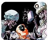 Deadpool loves Zombie Krankenschwestern Mousepad Personalisierte Custom Mauspad Oblong Geformte in 25x 20cm Gaming Maus Pad/Matte