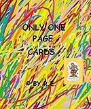 Only One Page Cards- Card No. 42: Happy Birthday to you! (greeting card, surprise card, eBook card, carte de voeux, Grußkarte, tarjeta de felicitación, biglietto d'auguri) (English Edition)