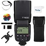 Godox TT600 2.4 G Wireless Flash Speedlite Master/Slave Flash mit integriertem Trigger System f¨¹r Canon Nikon Pentax Olympus Fujifilm Panasonic