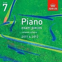 Piano Exam Pieces 2011 & 2012 CD, Grade 7