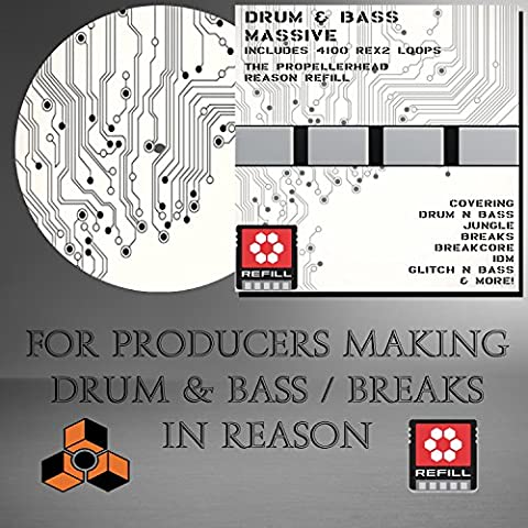 Drum & Bass Massive -The Propellerhead Reason Refill
