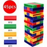 TXDIRECT Giant Jenga Jenga Block Jenga For Kids Jenga For Adults Balancing Game Jenga Blocks Stacking Blocks Giant Jenga For Adults Giant Jenga Game