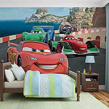Disney Cars Lightning McQueen Bernoulli   Photo Wallpaper   Wall Mural    Giant Wall Poster   XL   254cm X 184cm   Standard Paper (NOT EasyInstall)    2 ... Part 57