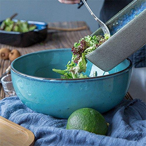 Große Salatschüssel-Suppenschüssel-mischende Schüssel-Frucht...