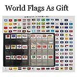 Kit de iniciación a la numismática, coleccionismo de monedas, álbum de cuero para almacenamiento, con solapas de banderas, marcador de bandera del mundo marcador como regalo - LZWIN - amazon.es