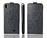 caseroxx Flip-Case Smartphone Case for Kazam Tornado 348 Flip-Cover black
