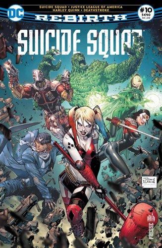 Suicide Squad Rebirth 10  genoux devant Zod