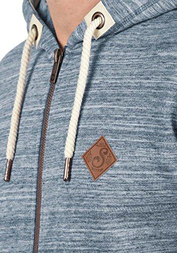!Solid Craig Herren Sweatjacke Kapuzenjacke Hoodie Mit Kapuze Und Reißverschluss, Größe:S, Farbe:Insignia Blue (1991) - 4
