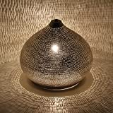Orientalische ägyptische Leuchte Laterne 100% versilberte Handmade Silver Stehlampe Lampe für tolle Lichteffekte wie aus 1001 Nacht Suess D22