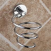 HSBAIS Soportes para secador de Pelo Secador de Pelo de Cobre Estante de baño, Tienda