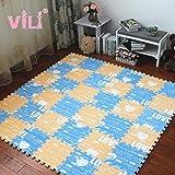 Directora de todo el paquete de 10 piezas de rompecabezas en el dormitorio de alfombras de espuma de colchón el piso de 15 niños esponjas