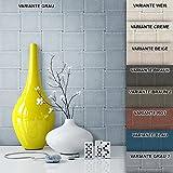 Tapete Vliestapete Grau Blau Landhaus Optik , schöne, edle Tapete im modernen Design , für Wohnzimmer, Schlafzimmer oder Küche inklusive Newroom Tapezier Profibroschüre mit Tipps für perfekte Wände