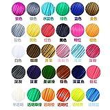 TIANLIANG04 22 oder 20 oder 10 Farbe Farbe/Set 3D-Pen Filament ABS/PLA 1,75 mm Kunststoff Gummi Verbrauchsmaterial Material 3d Drucker, PLA 10 Farbe