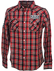 Rivaldi - Chance combo red ml shirt - Chemise manches longues