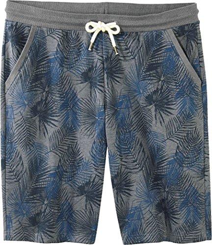 LIVERGY® Herren Sweat-Bermudas ++ Plussize ++ (grau blau Gemustert, Gr. 3XL 64/66)