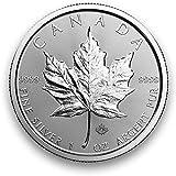 Silbermünze Maple Leaf - 2018 - einzeln in Münzkapsel verpackt - 1 Unze Silber - Neu und prägefrisch