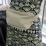 Travel Running Waist Belt Wallet Pouch Bum Bag Nude