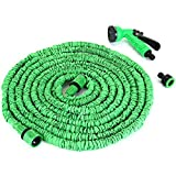 #9: Kihika (75ft) Nozzle Watering Device Garden Water Hose Expandable Hose Pipe Car Garden Connector