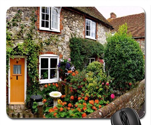 Bosham Cottage Panoramic Mouse Pad, Mousepad (Houses Mouse Pad)