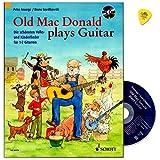 Telecharger Livres Old Mac Donald Plays Guitar Les Plus Belles et les enfants Volks Tablet de Chansons Pour 1 2 GUITARES pour les jeunes guitariste a partir de 8 ans lehrwerk avec CD et Dunlop Mediators de guitare (PDF,EPUB,MOBI) gratuits en Francaise