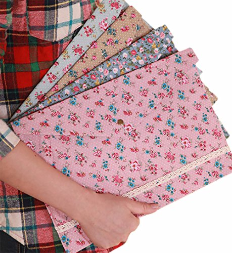 Hustar 4pcs Floral A4 Carpeta Bolsa Carpeta Archivador