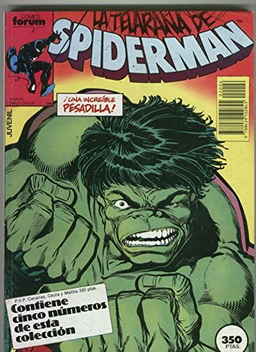Spiderman volumen 1 retapado 106 al 110