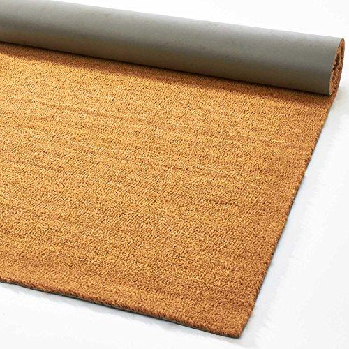 WEST DERBY CARPETS ONLINE Extreme® Kokosfaser Boden Matten 17mm, Natur | Kokos Entrance Mat–12Größen erhältlich, 100 x 200 cm