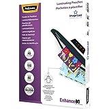 Fellowes 5306002 Pochettes de plastification 80 microns - Format A5 - Technologie ImageLast