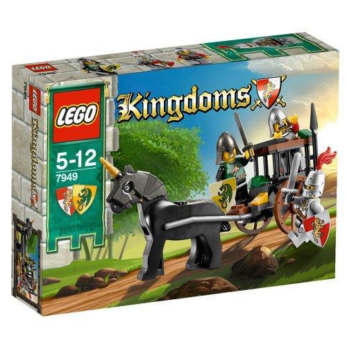 LEGO Kingdoms 7949 - Rescate carroza prisioneros [versión