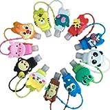 12pcs Bottiglie di Viaggio Ricaricabili con Cartoni Animati 30ml Contenitori Vuoti di Tenuta Ricordano ai Bambini di…