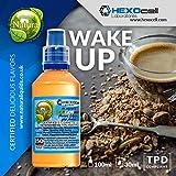 E LIQUID PARA VAPEAR - 30ml Wake Up (Cereales, Café, Leche) Shake and Vape E Liquido para Cigarrillo Electronico, Shake n Vape Eliquido sin Nicotina
