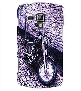 PrintDhaba Bike D-2839 Back Case Cover for SAMSUNG GALAXY S DUOS S7562 (Multi-Coloured)