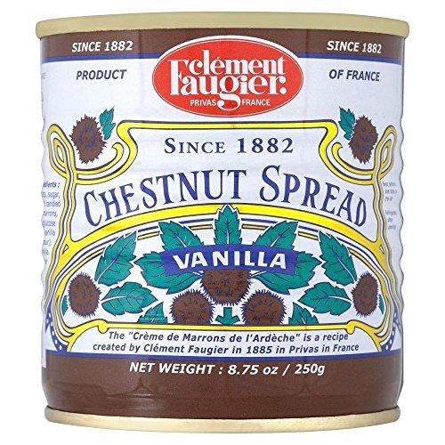 Clement Faugier Chestnut Spread Vanilla - Crème De Marrons (250G)