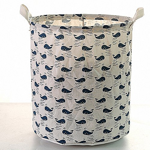HUICI Wäschekorb klappbar groß behindern Zylinder Faltbare Kids für Kleidung und Spielzeug Organizer Storage Kleidung Halter Wäschesack - stil 4