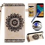 Etsue Floral Wallet Case for Samsung...