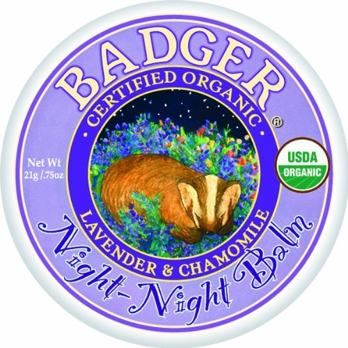 Badger Night Night Balm Certified Organic Calming Sweet Dream Balm For Kids 21g by Badger