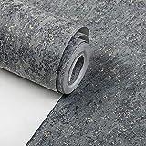 Tapeten Modern, einfach, einfach, rein, Vlies, Zement, graue Tapete, Wohnzimmer, Schlafzimmer, Hintergrundwand, nordische Arttapete, 7145-34 Zementasche, nur Tapete