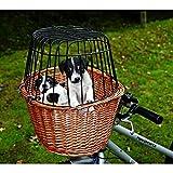 Trixie Cesta para Bicicleta con Rejilla, 44x 48x 33 cm