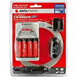 AgfaPhoto - Chargeur Turbo - 4 piles 2700 mAh incluses (Import Allemagne)