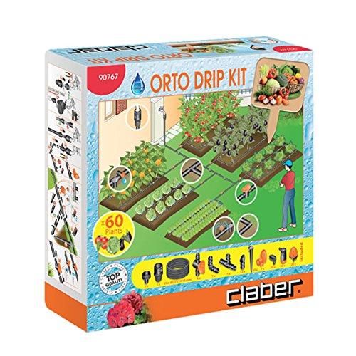 Claber 90767 Kit Orto per irrigazione a goccia