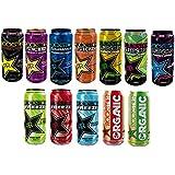 Rockstar Energy Drink variétés différentes boîtes 12 x 0,5 litre