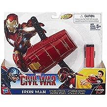 Hasbro Marvel Avengers Capitan America - Armatura Base Civil War, Modelli Assortiti